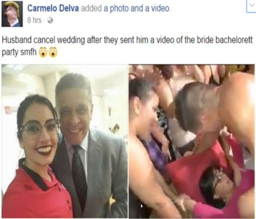 Groom Cancels Wedding After Seeing Video Of Bride Going Wild In Bachelorette Party